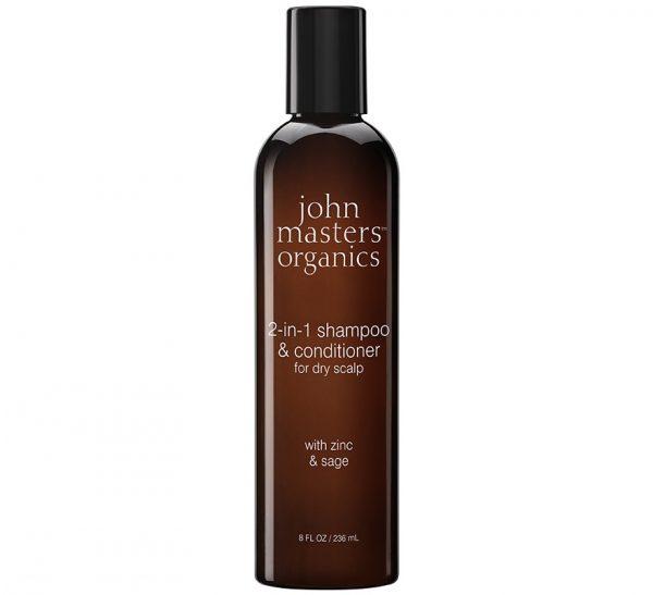 Cynk i szałwia szampon z odżywką John Masters Organics