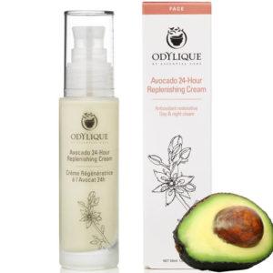Odżywczy krem do twarzy z awokado Odylique Essential Care 50 ml