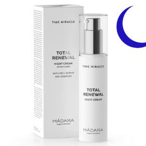 Sok z brzozy w kosmetykach | Krem na noc Total Reneval Madara
