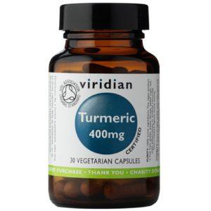 Viridian Organic Turmeric kurkuma organiczna 30 kaps