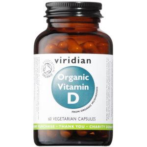 Ekologiczna witamina D Viridian 60 kaps
