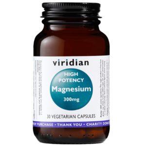 Viridian magnez 300 mg 30 kaps.