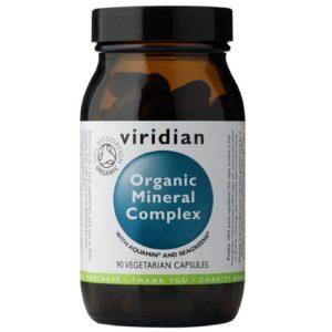 Viridian Organic Mineral Complex 90 kaps
