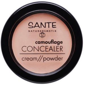 Korektor kamuflaż pod oczy i nie tylko | Sante Sand 3,4 g