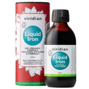Organiczne żelazo w płynie Liquid Iron Viridian 200 ml