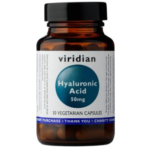 Viridian kwas hialuronowy 50 mg 30 kapsułek