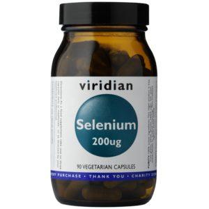 Viridian Selen 200 ug 30 kapsułek