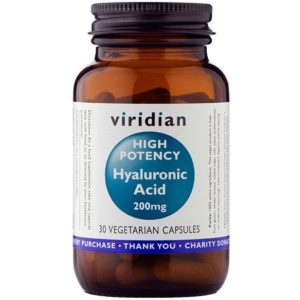 Kwas hialuronowyViridian 200 mg 30 kaps.