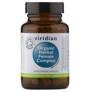 Viridian ekologiczny kompleks ziół dla kobiet