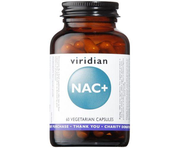 Viridian NAC + 60 kaps. | Suplement na oczyszczanie i wsparcie wątroby