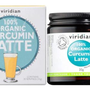 Viridian Curcumin Latte