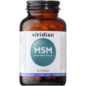 Viridian MSM 90 kaps. | Methyl Sulfonyl Methane |