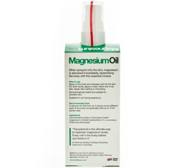 BETTERYOU Olejek magnezowy w sprayu 100 ml