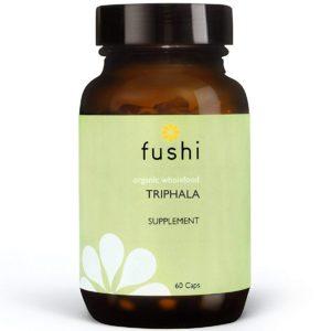 Fushi Triphala Bio 60 kaps. | Naturalna detoksykacja układu pokarmowego
