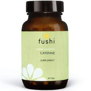 Fushi Cayenne Bio 60 kaps. | Owoc Pieprzu - suplement na odchudzanie