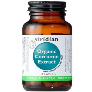 Kurkuma Viridian organic turmeric - ekstrakt organiczny 30 kapsułek