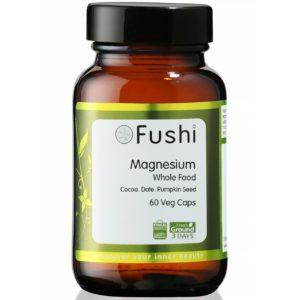 Fushi Whole Food Magnesium | Naturalny magnez 60 kapsułek