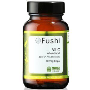 Fushi Whole Food Vitamin C | Naturalna witamina 60 kaps.