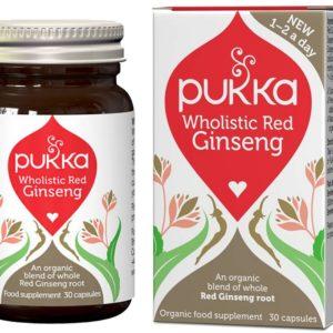 Pukka Herbs Red Ginseng Wholistic 30 kaps.