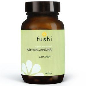 Fushi Ashwagandha Bio 60 kaps. | Suplement diety łagodzący stres