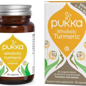 Pukka Herbs Wholistic Turmeric 30 kaps.