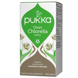 Pukka Herbs Clean Chlorella 400 tabletek