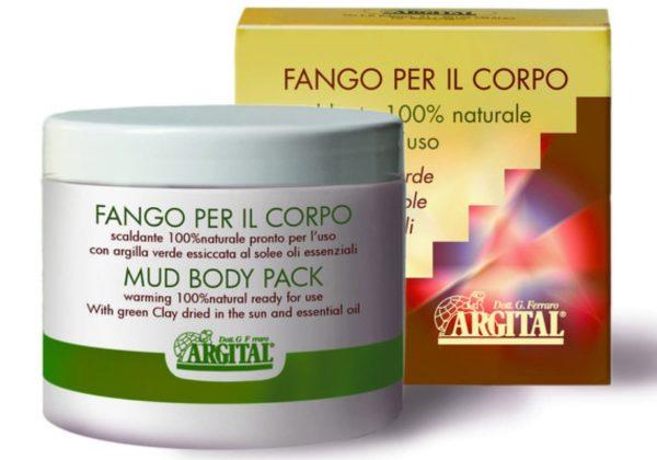 Argital błoto rozgrzewające na bóle kręgosłupa i stawów Fango pel il corpo