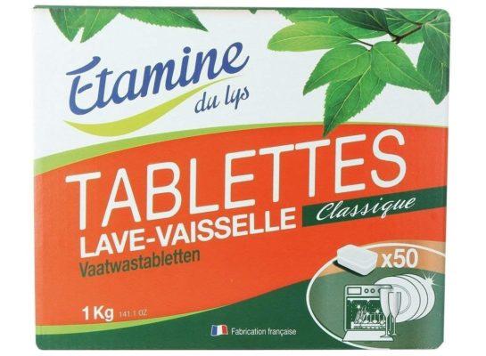 Bezzapachowe tabletki do zmywarki EDL Etamine du Lys 50 szt.
