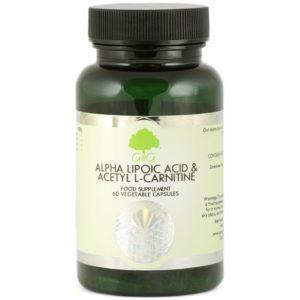 GG Kwas alfa liponowy i Acetyl L-Karnityna 60 kapsułek