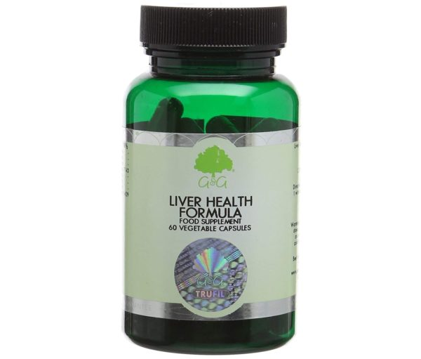GG Liver Health Formula 60 kapsułek | Zdrowa Wątroba