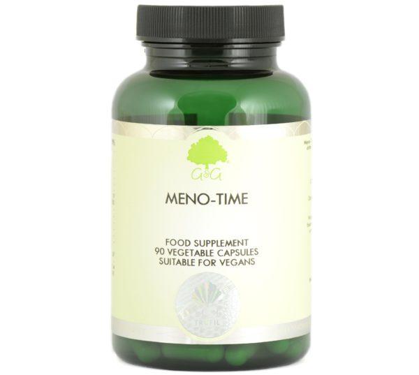 GG Meno-Time 90 kapsułek   Na menopauzę dla kobiet