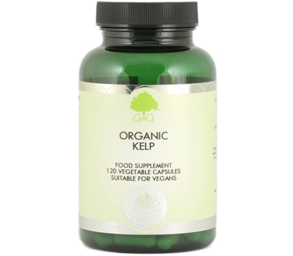 GG Organic Kelp 120 kaps. | Ekologiczne algi brunatne
