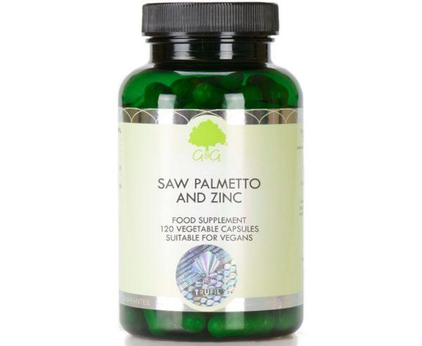 GG Saw Palmetto & Zinc 120 kapsułek | Palma sabałowa i cynk