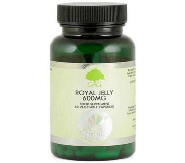 GG Royal Jelly Mleczko Pszczele 600 mg 60 kapsułek