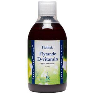 Holistic Flytande Vitamin D3 500 ml | Witamina D3 w płynie cholekalcyferol
