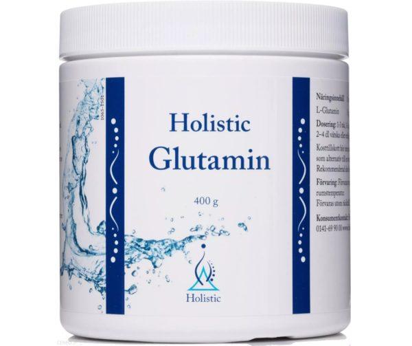 Holistic Glutamin 400 g   L-Glutamina w proszku