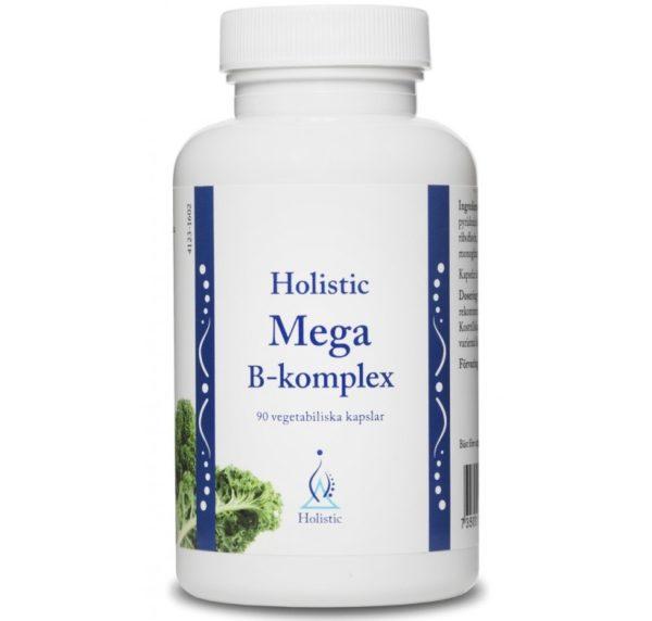 Holistic Mega B-complex (B1 B2 B3 B12 B6) z biotyną i kwasem foliowym