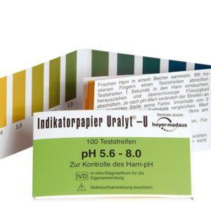 Holistic papierki lakmusowe | Badanie ph moczu papierkiem lakmusowym