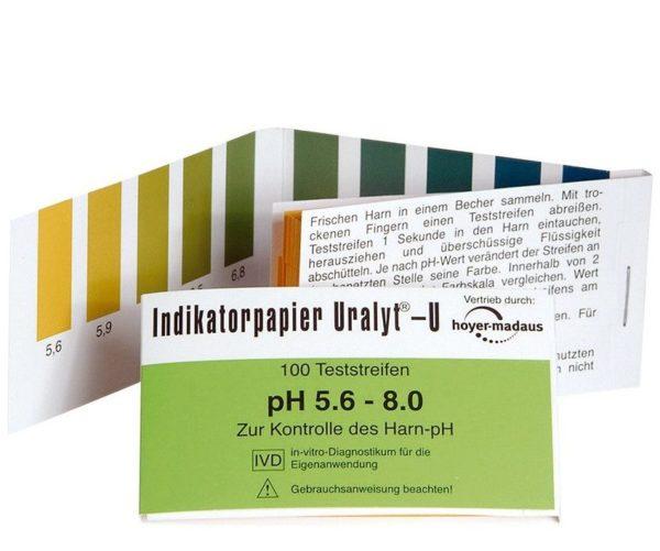 Holistic papierki lakmusowe   Badanie ph moczu papierkiem lakmusowym