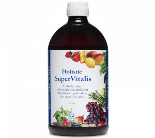 Holistic SuperVitalis 900 ml | Naturalny koncentrat witamin i minerałów