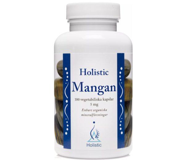 Holistic Mangan 5 mg 100 kapsułek