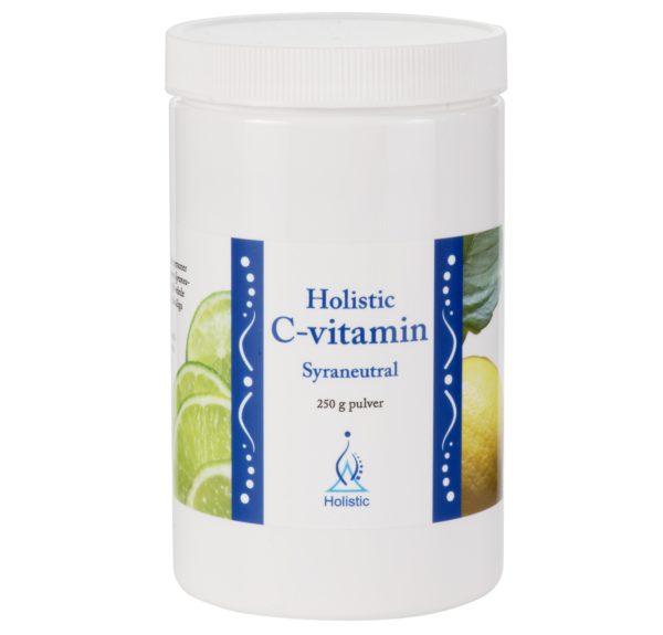 Holistic C-vitamin Syraneutral   Witamina C w proszku