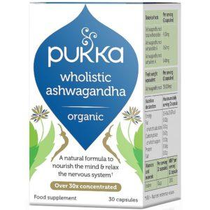 Pukka Herbs Wholistic Ashwagandha 30 kapsułek
