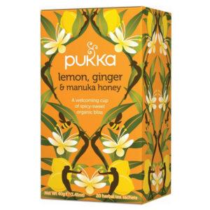 Pukka Lemon Ginger Manuka honey 20 saszetek