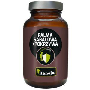 Hanoju Palma Sabałowa i Pokrzywa ekstrakt (250 mg+200 mg) 90 kaps.