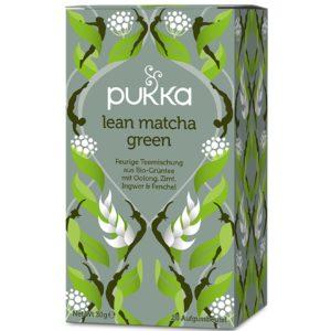 Pukka Lean Matcha Green Bio 20 saszetek