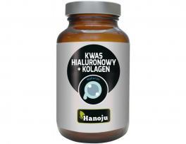 Hanoju Kwas hialuronowy + Kolagen 250 mg 60 kapsułek