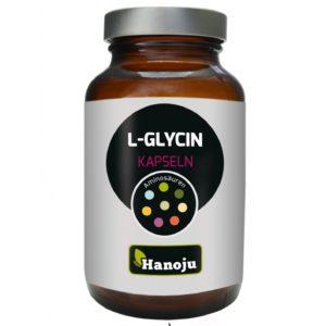 Hanoju L-Glicyna 700 mg 90 kapsułek