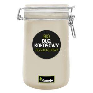 Hanoju bezzapachowy olej kokosowy BIO 1000 ml