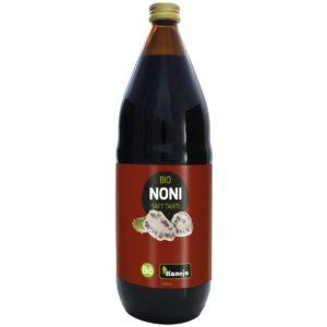 Hanoju Noni Saft Tahiti 1 L | Organiczny sok z Morinda citrifolia L